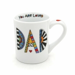 Cuppa Doodle Dad Is The Boss Coffee Mug 16 Oz by Our Name Is Mud from Enesco