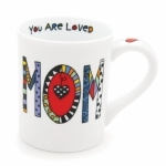 Cuppa Doodle Mom Spells Wos Coffee Mug 16 Oz by Our Name Is Mud from Enesco