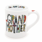 Cuppa Doodle Grandmother Coffee Mug 16 Oz by Our Name Is Mud from Enesco