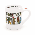 Cuppa Doodle Forever Friend Coffee Mug 16 Oz by Our Name Is Mud from Enesco