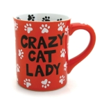 Crazy Cat Lady Coffee Mug 16 Oz by Our Name Is Mud from Enesco