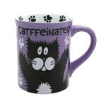 Catffeinated Cat Coffee Mug 16 Oz by Our Name Is Mud from Enesco