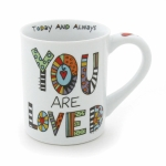 Cuppa Doodle You Are Loved Coffee Mug 16 Oz by Our Name Is Mud from Enesco