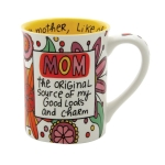 Mom The Original Source Coffee Mug 16 Oz by Our Name Is Mud from Enesco