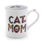 Cuppa Doodle Cat Mom Coffee Mug (Cup) 16 Oz by Our Name Is Mud from Enesco