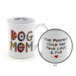 Cuppa Doodle Dog Mom Coffee Mug 16 Oz by Our Name Is Mud from Enesco