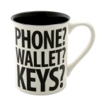 Phone Wallet Forgot My Coffee Mug 16 Oz by Our Name Is Mud from Enesco