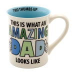 Amazing Dad Coffee Mug 16 Oz by Our Name Is Mud from Enesco