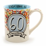 60 Something Birthday Coffee Mug 16 Oz by Our Name Is Mud from Enesco