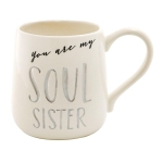 Soul Sister Coffee Mug 16 Oz by Our Name Is Mud from Enesco