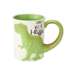 T-Riffic T-Rex Sculpted Coffee Mug 16 Oz by Our Name Is Mud from Enesco