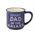 Coolest Dad In the Galaxy Camper Coffee Mug 16 Oz by Our Name Is Mud from Enesco