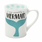 I'm Secretly a Mermaid Coffee Mug 16 Oz by Our Name Is Mud from Enesco
