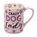 Crazy Dog Lady Coffee Mug 16 Oz by Our Name Is Mud from Enesco