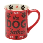 The Dog Father Coffee Mug (Cup) 16 Oz by Our Name Is Mud from Enesco