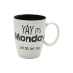 Days of the Week Coffee Mug Set 16 Oz by Our Name Is Mud from Enesco
