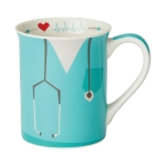 Nurse Call The Shots Uniform Coffee Mug 16 Oz by Our Name Is Mud from Enesco