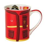 FIrefighter Uniform Coffee Mug 16 Oz by Our Name Is Mud from Enesco