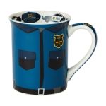 Police Uniform Proud to Serve Coffee Mug 16 Oz by Our Name Is Mud from Enesco