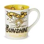 Cup of Sunshine Coffee Mug 16 Oz by Our Name Is Mud from Enesco