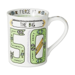 The Big 50 Cuppa Doodle Birthday Coffee Mug (Cup) 16 Oz by Our Name Is Mud from Enesco