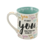 You You You Happy Birthday Coffee Mug 16 Oz by Our Name Is Mud from Enesco