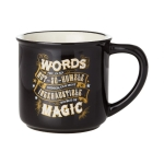 Harry Potter Black Magic Camper Coffee Mug 16 Oz by Our Name is Mud from Enesco