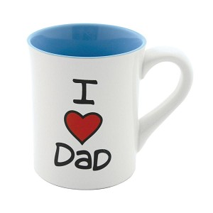 I Heart Dad Coffee Mug 16 Oz by Our Name Is Mud from Enesco