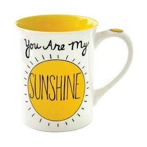 You are My Sunshine Coffee Mug 16 Oz by Our Name Is Mud from Enesco