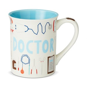 Doctor Uniform Coffee Mug 16 Oz by Our Name Is Mud from Enesco