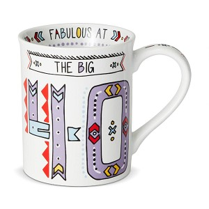 The Big 70 Cuppa Doodle Birthday Coffee Mug 16 Oz by Our Name Is Mud from Enesco