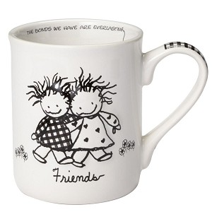 Friends Coffee Mug (Cup) 16 Oz by Children of the Inner Light from Enesco