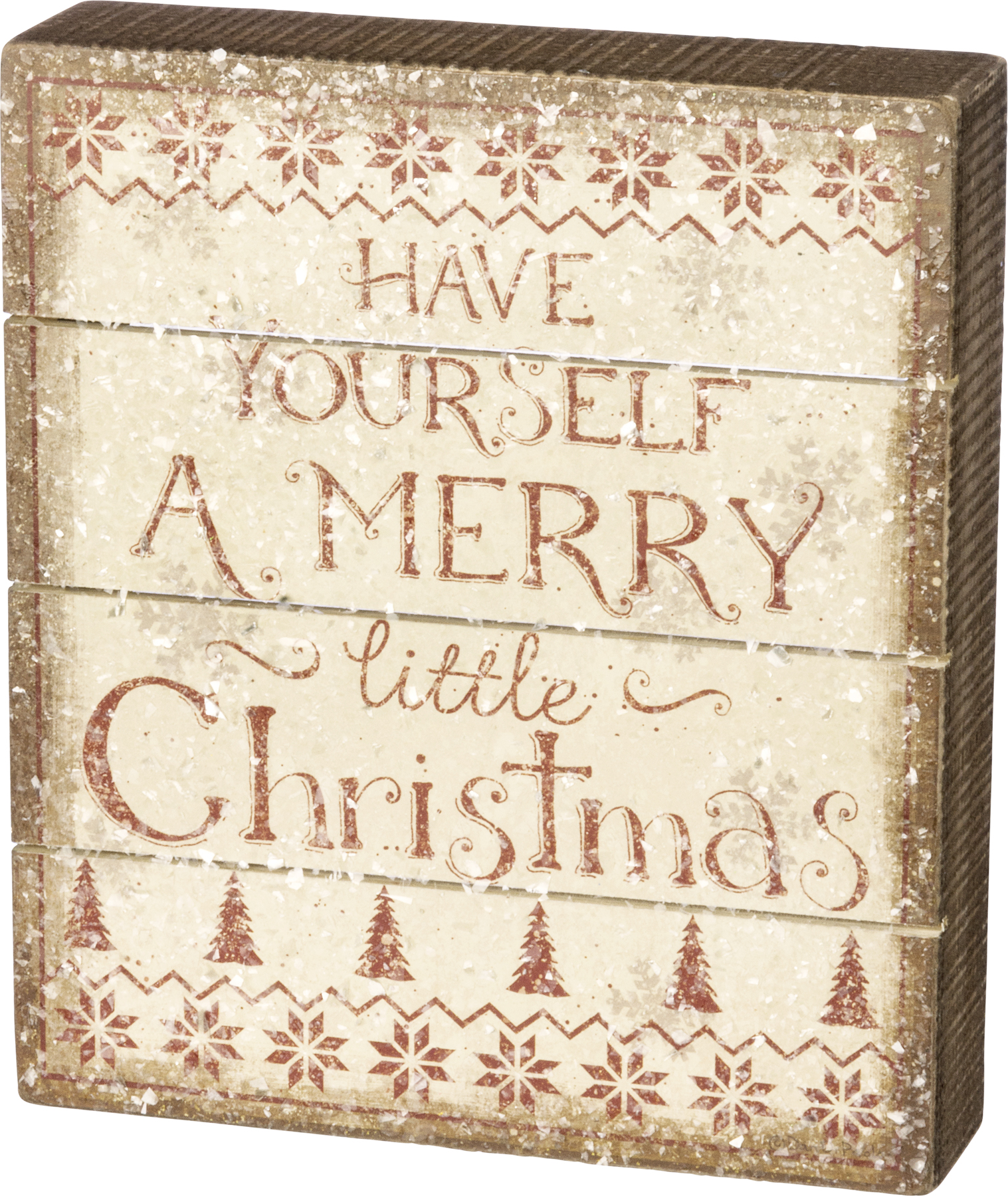 Have Yourself A Merry Little Christmas Sign.Have Yourself A Merry Little Christmas Rustic Decorative Wooden Box Sign 7x8 From Primitives By Kathy
