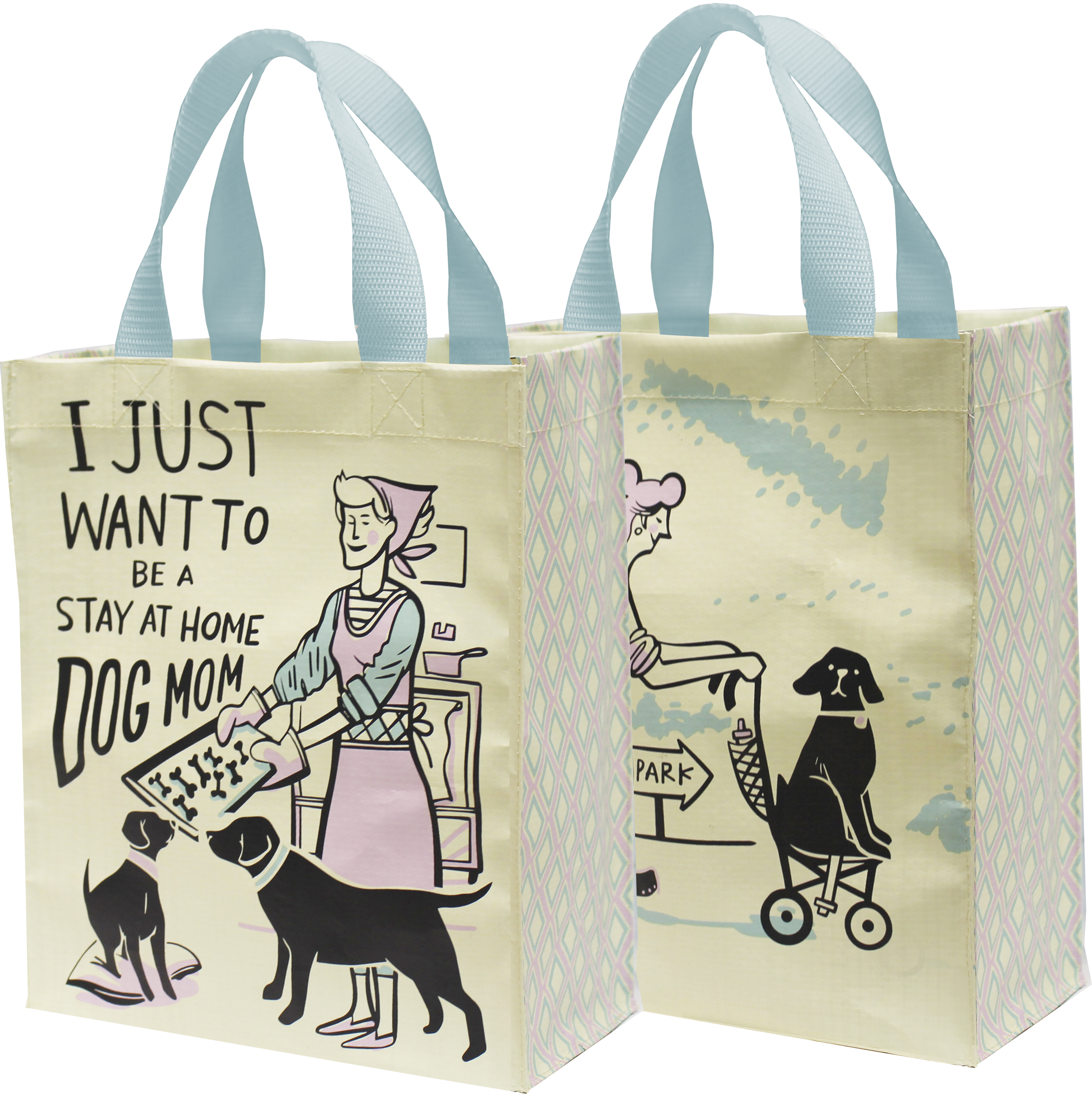 tote bag Dog lover tote dog owner gift dog mom shopping bag netflix dog owner dog mom gift I just want to pet my dog cotton tote