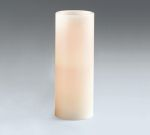 Ivory LED Unscented Pillar Candle 8 Inch (Battery Operated) from Burton & Burton