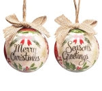 Set of 14 Yuletide Traditions Cardinal Themed Hanging Christmas Ornaments 3 Inch from Burton & Burton