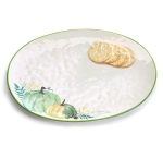 Precious Pumpkins Ceramic Serving Platter from Burton & Burton