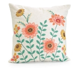 Blooming Meadow Floral Spring Decorative Throw Pillow 17.5 Inch from Burton & Burton