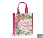 Holiday Wreath Design Merry Christmas To You Tote Bag from Burton & Burton