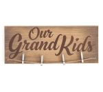 Natural Wood Our Grandkids Decorative Wooden Sign Photo Holder 19.5 Inch from Burton & Burton