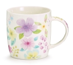 Dogwood Flowers Design Bone China Coffee Mug With Gift Caddy 12 Oz from Burton & Burton