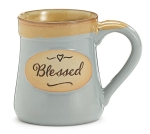 Blessed Every Good & Perfect Gift Is From Above James 1:17 Porcelain Coffee Mug 18 Oz from Burton & Burton