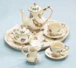 Morning Meadows Mini Porcelain Tea Set from Burton & Burton