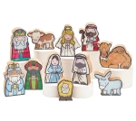 11 Piece Childlike Look Holy Family Nativity Set Figurine from Burton & Burton