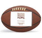 Football Shaped Resin Photo Picture Frame (Holds 3x5 Photo) from Burton & Burton