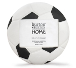 Soccer Ball Shaped Hand Painted Poly Resin Photo Picture Frame (Holds 3x5 Photo) from Burton & Burton