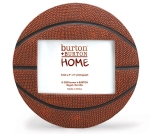 Basketball Shaped Photo Picture Frame (Holds 3x5 Photo) from Burton & Burton