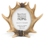 Deer Antlers Resin Photo Picture Frame (Holds 3x5 Photo) from Burton & Burton