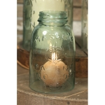 Midget Pint Glass Mason Jar Chimney from CTW Home Collection