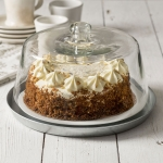 Glass Dessert Cake Cover Cloche With Base from CTW Home Collection